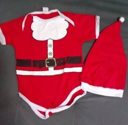 Roupa de bebê de Natal