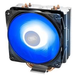 Cooler FAN DeepCool Gammaxx 400 V2, 120mm, Azul / Vermelhor ou 12X R$ 13,78