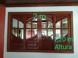 Vende-se estas janelas e porta
