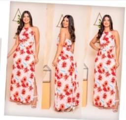 Título do anúncio: Vestido crepe BAIXOU forrado por $ 49,90