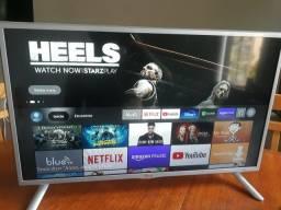 Tv 32 Smart completo. <br>Conecta equipamentos Bluetooth. Possui Alexa !!