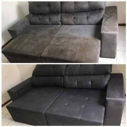Limpeza e higienização de sofá e colchão