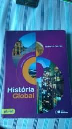 Livro História Global - Gilberto Cotrim - Saraiva Editora - Usado