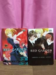 Manga Red Garden vol 3 e 4