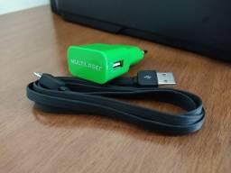 Carregador 2.1A + Cabo Micro USB