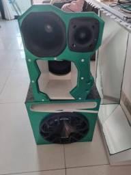 Caixa de som para carro JBL/Bravox