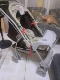 Carrinho de bebê da marca Galzerano NOVO e de qualidade com Preço de usado por apenas 230