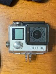 Conjunto GoPro Hero4 Silver