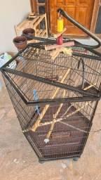 Título do anúncio: Viveiro hexagonal para Papagaio ou Calopsitas