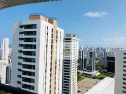Título do anúncio: Apartamento com 2 dormitórios para alugar, 59 m² por R$ 2.700/mês - Boa Viagem - Recife/PE