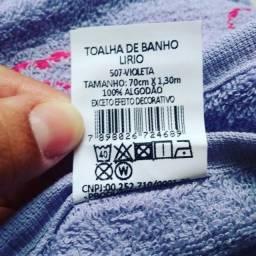 Tolha de banho 100% algodão Lírio