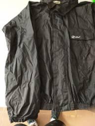 capa de chuva alba - em nylon ( mais resistente)-  jaqueta e calça