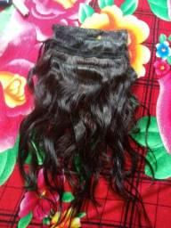 4 telas de 55cm cabelo natural.
