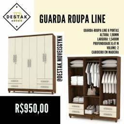 Guarda roupa line PREÇO DE FÁBRICA