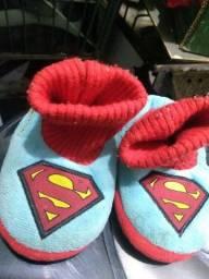 Pantufa infantil Superman