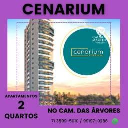 Apartamento 2 quartos em 72m² 1 vaga - Cenarium Residencial