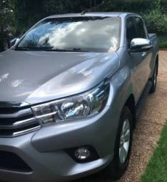 Toyota Hilux 2.7 srv  cabine dupla 4*2 fles Ano 2017