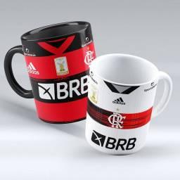 Canecas Flamengo com seu nome