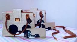 Lindo conjunto de bolsas + carteira - última peça - abaixou !!!