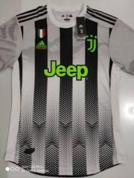 Camisa Juventus Palace - Jogador - Adidas 19/20 - Tamanho: G