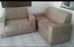 Conjunto sofá novo