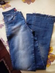 Calça jeans flare 40