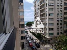 Conjugado com vista mar em Copacabana