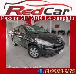 207 Passion sedã  2014 1.4 completo!