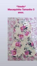 Lote de roupas para menina 3 anos