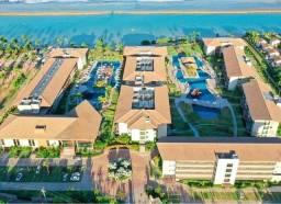 Título do anúncio: Apartamento no polinesia beira mar de muro alto piscina resort 2 quartos mobiliado flat