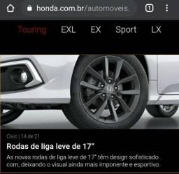 Rodas Honda Civic 2021 0 Km