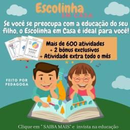 Apostila educacional para crianças