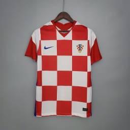 Camisa Lançamento Croácia 2021 Modric Frete Grátis