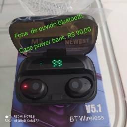 Título do anúncio: Fone de Ouvido Bluetooth 5.1 M5 Tws
