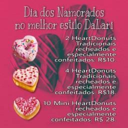 Donuts Dia dos Namorados