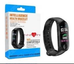 M3 Smartband Relogio inteligente , whats na descrição