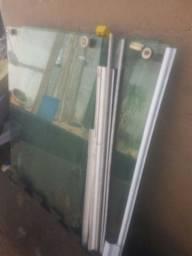 Janela 2.50 blindex com todas as peças só montar