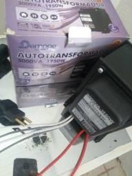 Autotransformador bivolt 127/220v NOVO