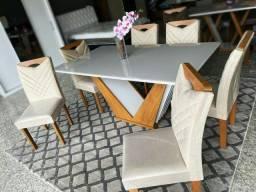 Mesa 6 cadeiras Londres