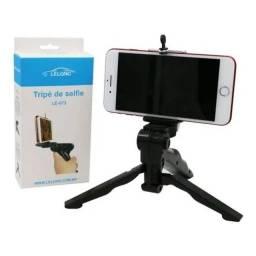 Tripé estabilizador de mão para câmeras e smartphones