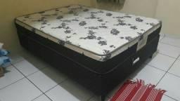 Cama Box CASAL semi NOVA
