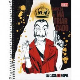 Caderno La Casa de Papel
