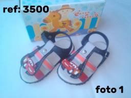 Título do anúncio: Sandálias baby infantil - Masculina -Passo a Passo