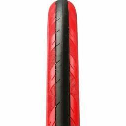 Compruu pneu aro 700 de faixa vermelho