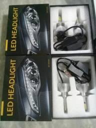 Kit Led super xenom 6000k (produto novo na caixa), modelos h4 e h7