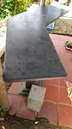 Vendo mesa de marmore de escritorio