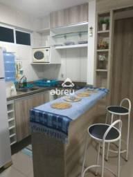 Apartamento à venda com 1 dormitórios em Ponta negra, Natal cod:817225