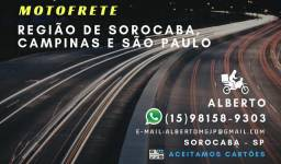 Entregas em Sorocaba e região - motofrete / motoboy
