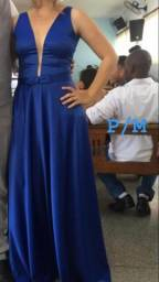 Vestido Azul Royal 180
