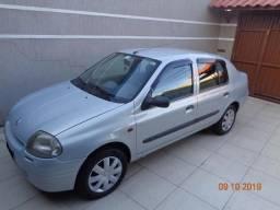 Renault clio 1.6 sedan em ótimo estado - 2001